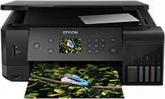 Multifunctional color Epson EcoTank L7160, Inkjet, Duplex, A4, Wireless