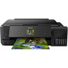 Multifunctional Epson L7180, Inkjet color, CISS, Wireless, Retea, A3