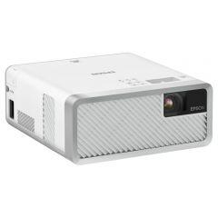 Videoproiector Epson EF-100W, Home Cinema, Laser, 3LCD, HD ready, Alb