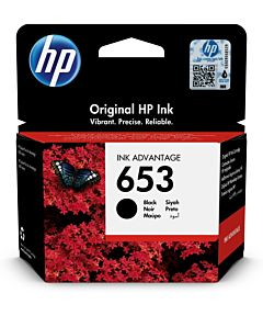 Cartus HP Ink 653 3YM75AE, Original, Negru