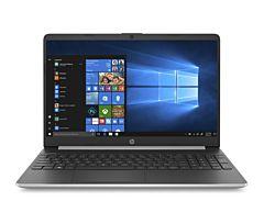 Laptop HP cu procesor Intel Core i3-1115G4 pana la 4.10 GHz, Ecran 15.6, Full HD, 8GB DDR4, 256GB SSD, Windows 10 Home, Silver