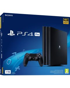 Consola Playstation 4 Pro, 1 TB, Jet Black