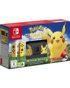 Consola Nintendo Switch - Pokemon Pikachu