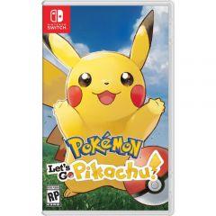 Pokemon Lets Go Pikachu - Sw