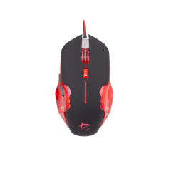 Mouse gaming Attila GM-1803 B/R White Shark, Negru/Rosu, 3200 DPI
