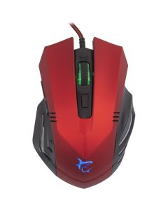 Mouse gaming GM-1602 RD White Shark, Rosu, 3200 DPI