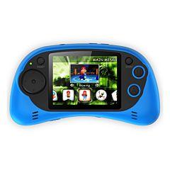 Consola jocuri portabila Serioux, ecran 2.7, 200 jocuri incluse, Albastru