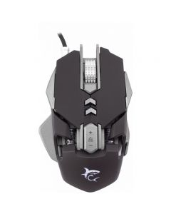 Mouse GM-5001 White Shark, Negru, 7 butoane, 4800 DPI