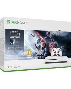 Consola Microsoft Xbox One S 1TB + Joc Star Wars JEDI