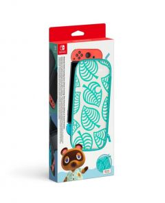 Nintendo Switch Carrying Case & Screen Protector Animal Crossing Edition - Gdg