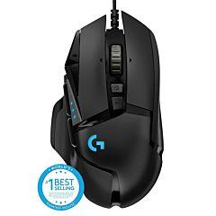 Mouse gaming Logitech G502, 16K DPI, Negru