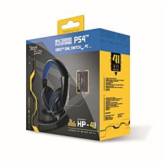 Casti gaming Steelplay HP41 compatibil PS4, Xbox, Nintendo, PC, negru