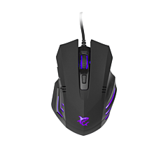 Mouse White Shark GM-5006 HANNIBAL-2, 3200 dpi, Negru
