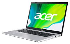 Laptop Acer Aspire A517-52-758Z, procesor Intel Core i7-1165G7 pana 2.8 GHz, ecran 17.3 Full HD, 16 GB DDR4, 1 TB SSD, Intel Iris Xe Graphics, No OS, Silver
