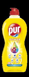 Detergent de vase Pur Power Lemon, 450 ml