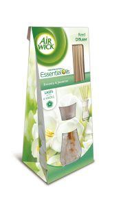 Odorizant betisoare parfumate Air Wick Reed Diffusers Frezie si Iasomie, 25 ml