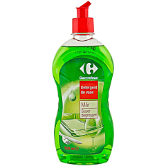 Detergent de vase mar, super degresant, Carrefour 500ml