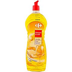 Detergent de vase lamaie, super degresant, Carrefour 1L