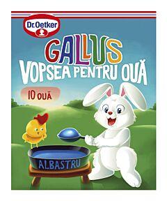 Vopsea granulata albastru Gallus pentru 10 oua