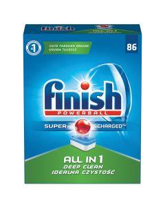Detergent tablete pentru masina de spalat vase Finish All in One, 86 buc