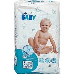Scutece junior, Carrefour Baby, 11-25 kg, 12 bucati