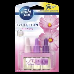 Rezerva odorizant pentru camera electric Ambi Pur 3Volution Flowers & Spring, 20 ml