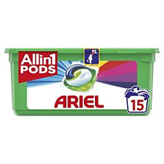 Detergent automat caspule Ariel All in One PODS Touch of Lenor 15 spalari