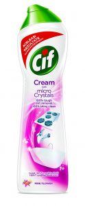 Crema abraziva Cif Pink, 700 ml