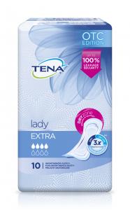 Absorbante pentru incontinenta Tena Lady Extra, 10 buc