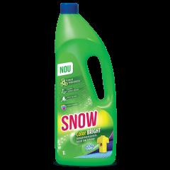 Lichid pentru indepartarea petelor Snow Color Bright, 1 L