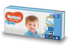 Scutece Huggies Ultra Comfort, nr 5, 12-22 kg, Mega, 56 buc, pentru baieti