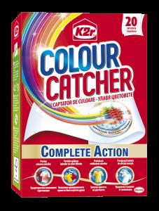 Aditiv pentru spalare K2r Colour Catcher, 20 buc