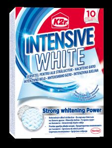 Servetele pentru rufe K2r Intensive White, 10 buc