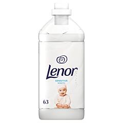 Balsam de rufe Lenor Sensitive 1.9 l, 63 Spalari
