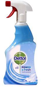 Dezinfectant spray suprafeteDettol Trigger Crisp Linen and Aqua Sky, 500 ml