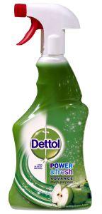 Dezinfectant spray suprafete Dettol Trigger Refreshing Green Apple, 500 ml
