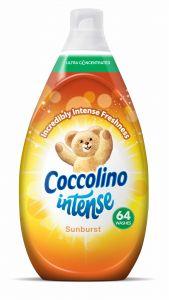 Balsam de rufe Coccolino Intense Sunburst, 64 spalari, 960ml