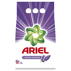 Detergent automat pudra Automat Ariel Lavanda, 20 spalari, 2 kg