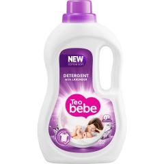 Detergent de rufe lichid Teo Bebe Cotton Soft Lavender, 20 spalari, 1.1 L