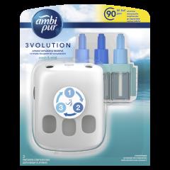 Odorizant electric de camera Ambi Pur 3Volution Ocean & Wind, 20 ml