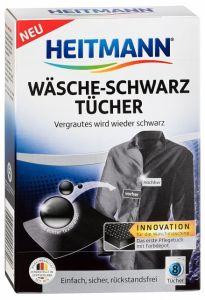 Servetele pentru rufe cu vopsea neagra Heitmann, 8 buc.