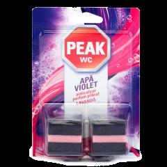 Tablete anticalcar pentru bazin Peak WC Apa violet, 2buc x 50 gr