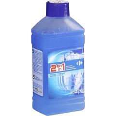 Solutie curatat masina de spalat vase Carrefour, 250 ml