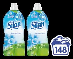 Balsam de rufe Silan Mediterranean, 148 spalari, 2 x 1.85 L