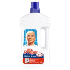Detergent universal pentru podele Mr Proper cu inalbitor, 1 L