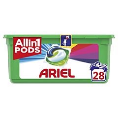 Detergent automat caspule Ariel All in One PODS Touch of Lenor 28 spalari