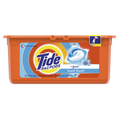 Detergent automat capsule Tide 3in1 PODs Scent Touch, 26 Spalari, 26 buc