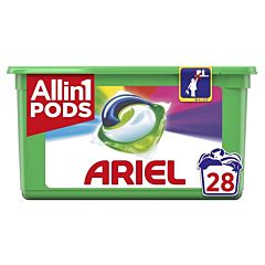 Detergent automat caspule Ariel All in One PODS Color 28 spalari