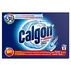 Tablete anticalcar Calgon Powerball, 8 buc