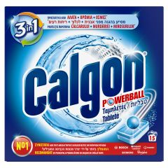 Tablete anticalcar Calgon Powerball, 15 buc